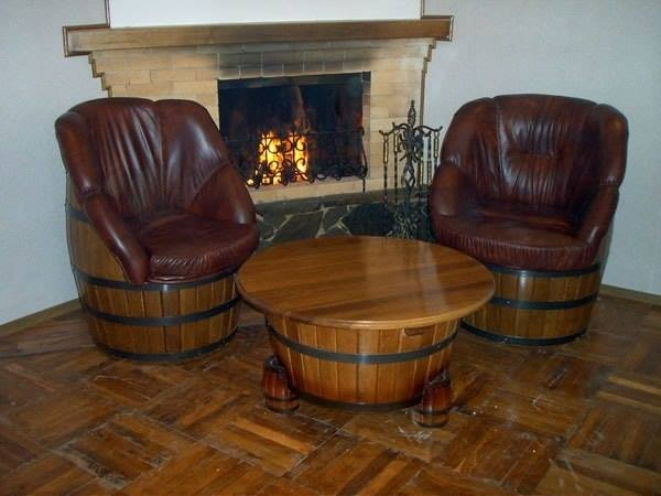 soft chairs with barrels