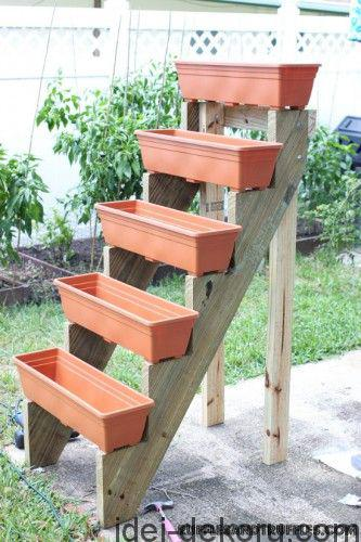 pot stairs herb