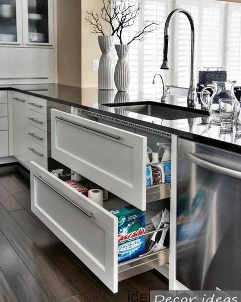 water tap drawer drawer white kitchen