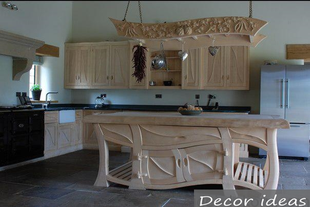 original wood kitchen idea