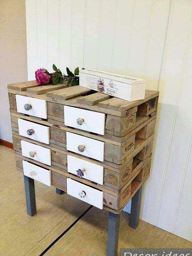 chest of drawers wood flower