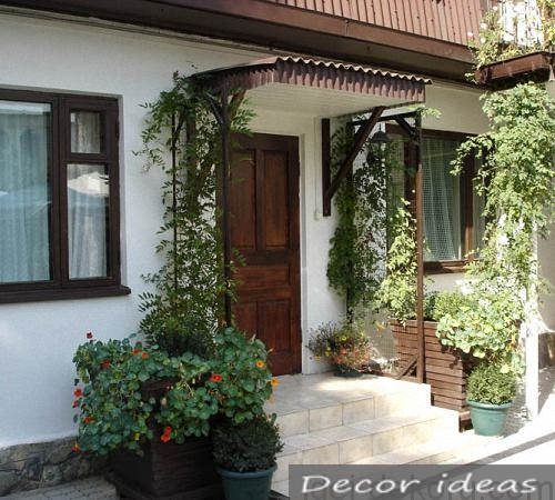 Decorating The Entrance To The House 40 Nice Ideas