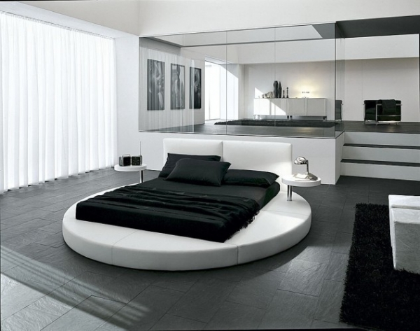 15 Luxurious Master Bedrooms With Round Beds