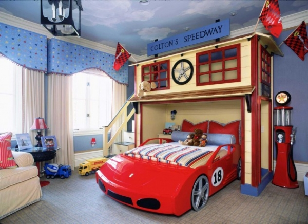 25 Amazingly Creative Kids' Bedroom Designs