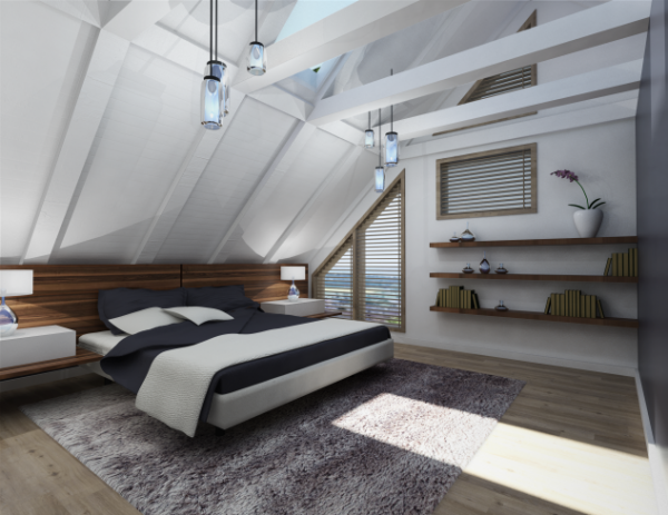 20 Cool Attic Bedroom Designs