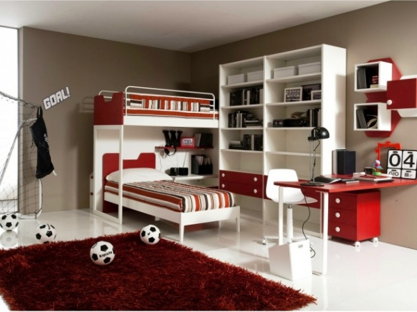 15 Cool Bedroom Designs For Teenage Boys