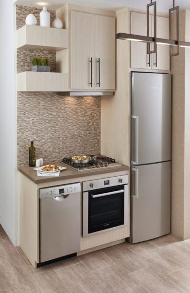 Minimalist Kitchen Design Idea- Solution for Small Space ...