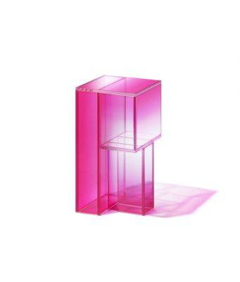 pink glass Studio Buzao