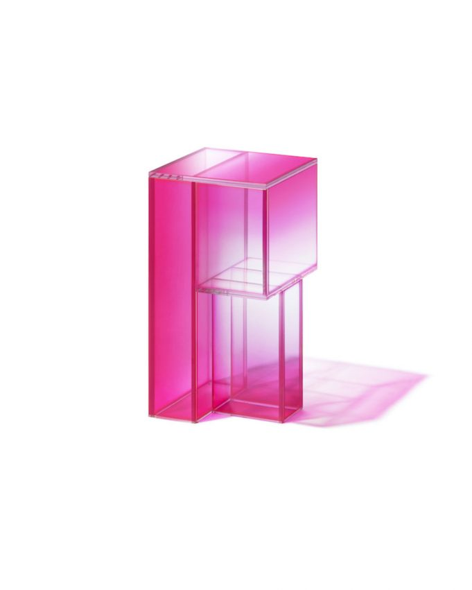 pink glass Studio Buzao